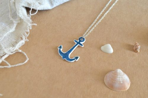 Collar ancla joyería marinera